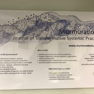 Murmurations: The launch of a new open-access journal